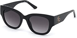 Guess lunettes de soleil GU7680 01B fumée Noire taille 50 mm Femme