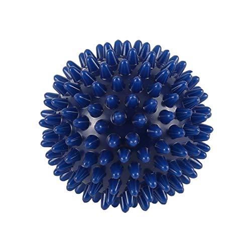 Rouku PVC High Density Spiky Massageball Fußschmerzen & Plantarfasziitis Reliever Behandlung Igelball Massage Akupressurball