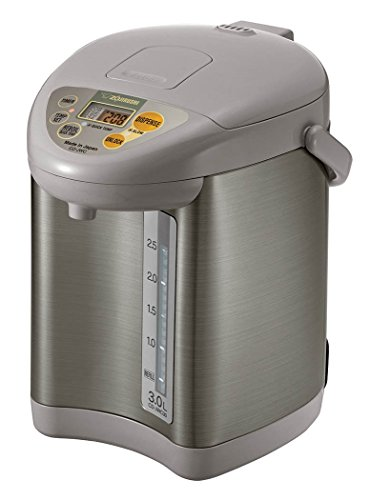 Zojirushi Micom Water Boiler & Warmer, 3.0 L, Silver Gray