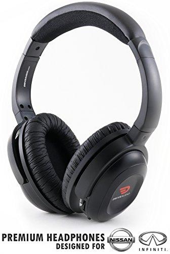 닛산 및 인피니티와 호환되는 오디오 충전식 헤드폰 드라이브-무선 헤드셋