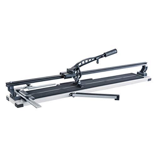 LUX-TOOLS FSM-1000 Professional Fliesenschneider | Fliesenverlegewerkzeug für Fliesen bis zu 14 mm Stärke | mit Hartmetall-Schneidrad und Schnittlänge von 100 cm