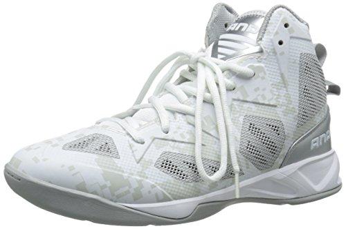 Preisvergleich Produktbild AND 1 Xcelerate 2 Herren Basketballschuh,  (Weiß / Silber / Weiß),  39 EU