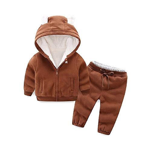 Meisjes Kleding Sets Herfst Winter Katoen Hooded Velvet Suits Kids Meisjes Mode Sport Outfits Merk Warm Kostuum