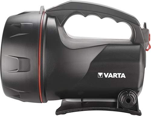 Varta Rechargeable Lantern Linterna recargable, Negro