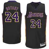 WOLFIRE SC Camiseta de Baloncesto para Hombre, NBA, Los Angeles Lakers #8#24 Kobe Bryant. Bordado...