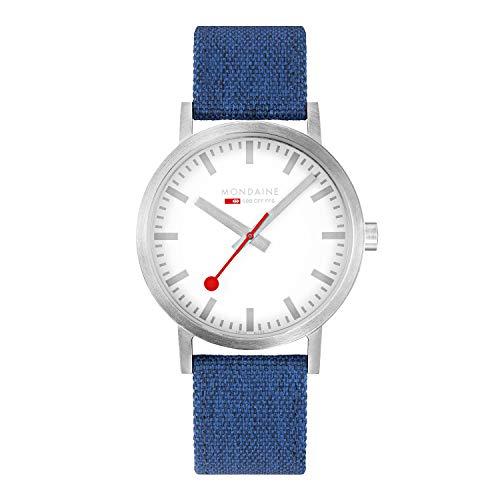Mondaine Classic - Beiläufige Uhr für Herren und Damen, A660.30360.17SBD, 40 MM