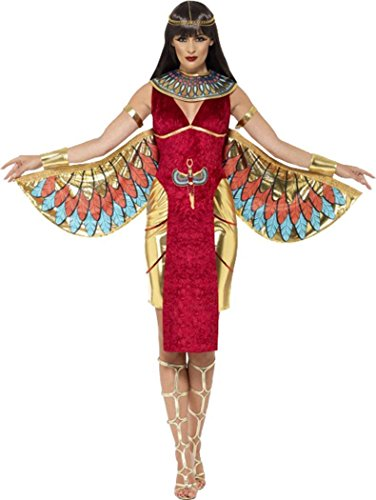 Donna Halloween travestimento da regina egizia dea costume outfit