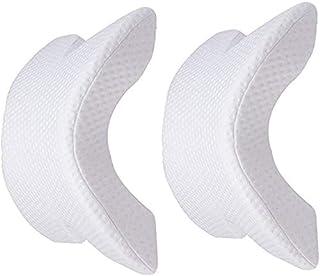 Almohada Cervical, Memory Foam Pillows, en Forma de U. Almohada de Cuello. Alivia la presión Cervical de la Cabeza (1 Unidad) + Regalo Caja para Guardar mascarilla