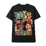 Homage-TEE - T-Shirt-Tyler-The-Creator Rap TEE Black