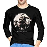 Brett Eldredge Mans Long Sleeve T-Shirt Fashion Classic Round Neck Top Long Sleeve Cotton Tee M Black