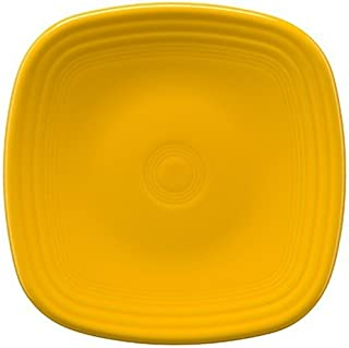 Homer Laughlin 921-342 Fiesta Square Salad Plate, Daffodil