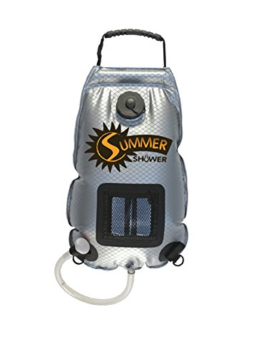 Advanced Elements (SS761) Summer Solar Shower - 3 Gallon , Silver/Black