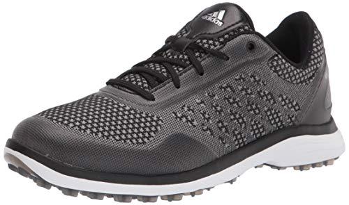adidas Women's FX4061 Golf Shoe, core Black/Glory Grey/FTWR White, 9.5