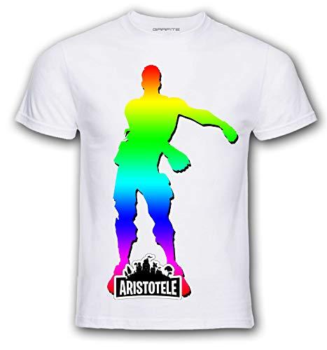 T-Shirt Skin PRO  Scegli Il Tuo Stile. Seleziona Il Ballo Che preferisci e personalizza ►Gratis◄ la t-Shirt con Il Nome Che Vuoi. (M, Floss Color)