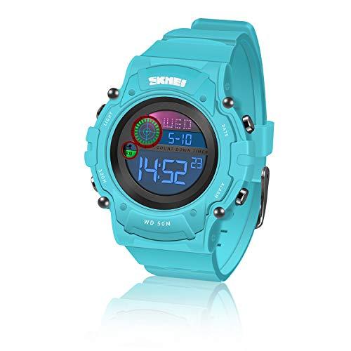 SoKy Kinder Spielzeug für Jungen 6-15 Jahre, LED 50M wasserdichte Digitaluhren für Kinder Geschenke für Jungen Mädchen ab 6-15 Jahre Jungen Geschenk Weihnachts Geschenke für Kinder 6-15 Jahre