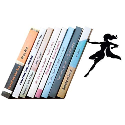 Extremos de libro, sujetalibros de metal Sujetalibros de Sup