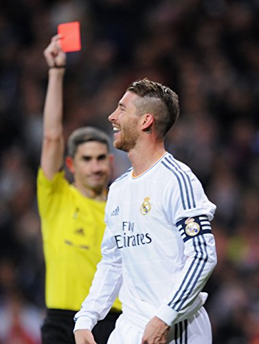 Print Me Sergio Ramos–Real Madrid Spagna # 07–8x 10Foto