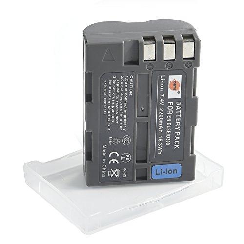 DSTE EN-EL3e Li-ion Batería para Nikon D30, D50, D70, D70S, D90, D80, D100, D200, D300,...