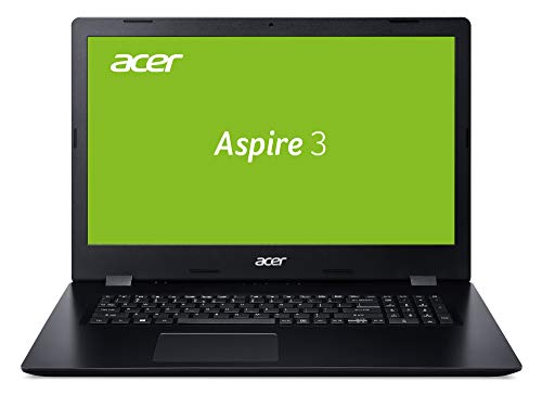 Acer Aspire 3 (A317-51G-51RU) 43,9 cm 17,3 Zoll Full-HD IPS matt) Multimedia Notebook (Intel Core i5-8265U, 8 GB RAM, 512 GB PCIe SSD, NVIDIA GeForce MX250, Win 10 Home) schwarz