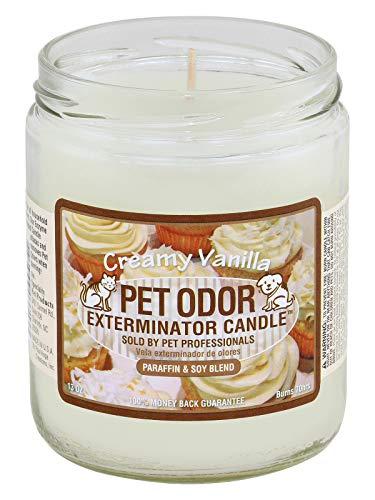 Mutneys Professional Pet Care Creamy Vanilla Pet Odour Elimination Candle