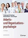 Arbeits- und Organisationspsychologie (Springer-Lehrbuch) - Friedemann W. Nerdinger