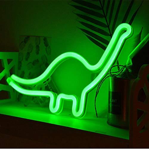LED-neonreclames Wanddecoratie DC 5V USB of batterij-aangedreven nachtverlichting Lampen Kunstdecor Wanddecoratie Tafellampen Dierenstijl, dinosaurus
