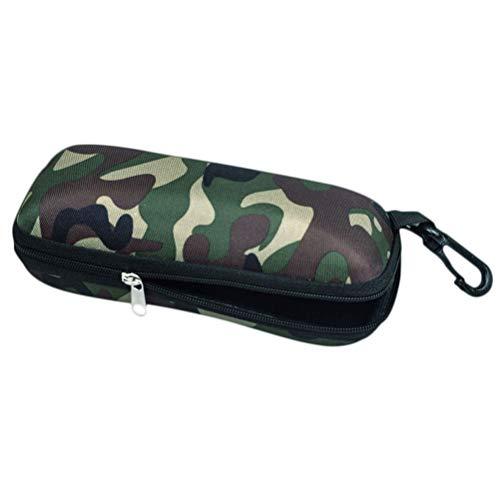 Outdoor Rits Doos Camouflage Doek Bril Doos Sport Zonnebril Doos Verdikt Schokbestendig Compressie Zonnebril Doos