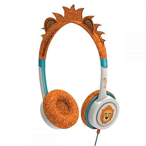iFrogz IFLRCH-OLI wenig Rockerz Kostüm kabelgebundene Kopfhörer Orange Löwe