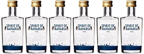 Spirit of Bavaria Vodka (6 x 0.05 l)