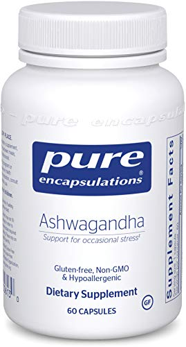 Pure Encapsulations - Ashwagandha - Supports Cardiovascular, Immune, Cognitive, and Joint Function and Helps Moderate Occasional Stress - 60 Capsules