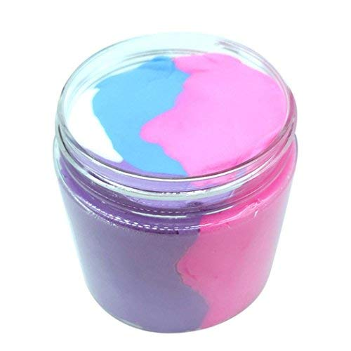 Jumbo Color Mixing Cloud Slime- Squishy Putty Scented Stress Clay Toy Gifts for Kids Girls Boys100ML/300ML (100 ML)
