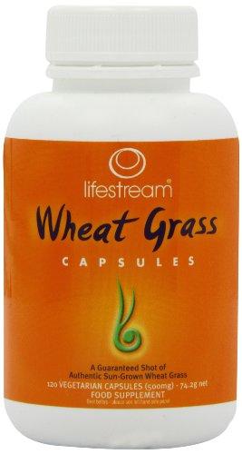 Lifestream Organic Wheat Grass Capsule Pack of 120