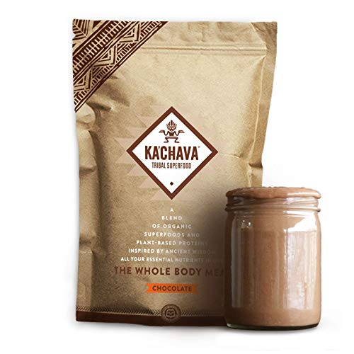 Ka'Chava Meal Replacement Shake - A Blend of Organic Superfoods and Plant-Based Protein - The Ultimate All-In-One Whole Body Meal. (Chocolate) 930g Bag = 15 meals (62g serving size)