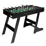 IDMarket - Baby-Foot Pliable Table de Jeu avec 2 balles