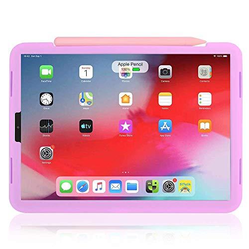 Protezione da Scrittura per iPad con pennini in Silicone Nero USSJ Compatibile con la Custodia Apple Pencil Tips per 2nd Gen