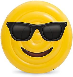 Emoji Colchoneta Hinchable Cara Gafas Saica 5887
