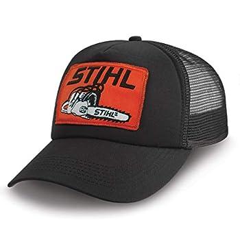 Stihl MESH Trucker HAT Black
