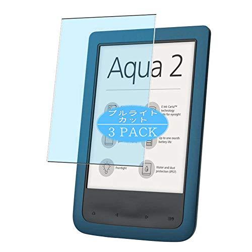 Vaxson 3 Stück Anti Blaulicht Schutzfolie, kompatibel mit PocketBook Aqua 2 641,...