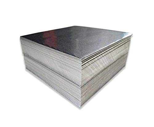 NAXIAOTIAO Disposable Heavy Duty Aluminium,Aluminium Thick Kitchen Foil Sheets,3838Cm Containers for Baking 100 Sheets,22 microns