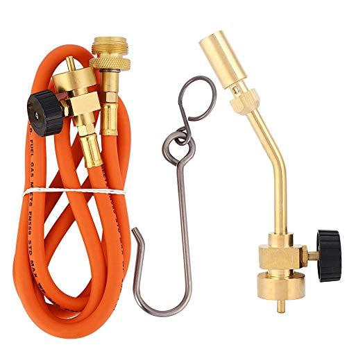 Antorcha de propano - Latón MAPP Gas Turbo Torch Soldadura de propano Soldadura Soldadura Pistola de fontanería Kit de herramientas con manguera