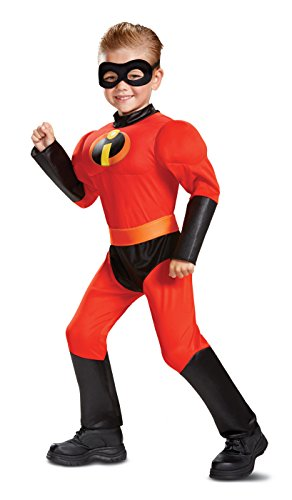 Disney Pixar Dash Incredibles 2 Muscle Toddler Boys' Costume