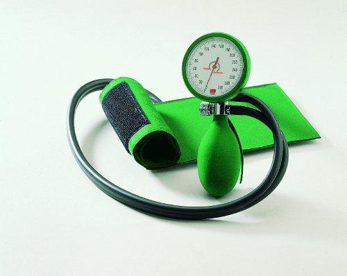 Blutdruckmessgerät boso clinicus II mit Klettenmanschette, grün by boso