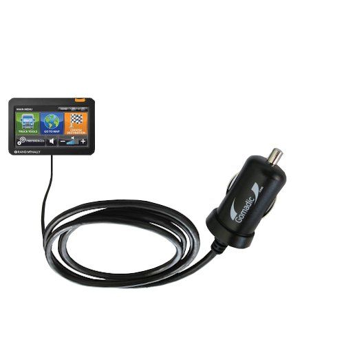 Mini 10W Car/Auto DC Charger Designed for The Rand McNally Intelliroute TND 510 710 720 with Gomadic Brand Power Sleep Technology - Designed to Last with TipExchange Technology