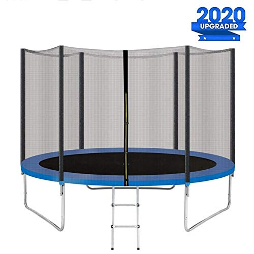 CTEGOOD Trampoline with Enclosure Net for Kids Outdoor, Trampolines Kingjumper Easy to Assemble for Patio Yard Family School Party Entertainment8FT