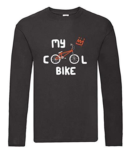 Langarmshirt - My Cool Bike Fahrrad - Long Sleeve Unisex für Kinder - Jungen und Mädchen