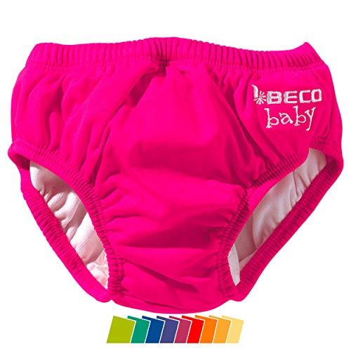 Beco Unisex-Baby Aqua-Windel Slipform mit Gummibündchen, Schwimmhilfe, Rosa (Pink/4), L (12-18 Monate)