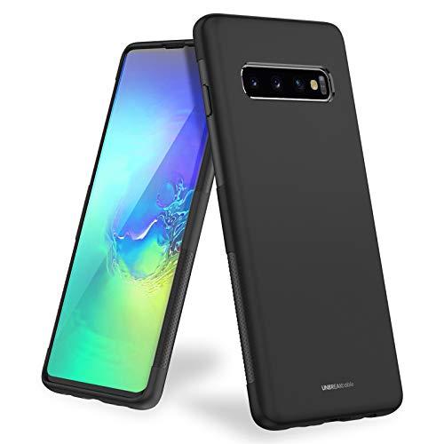 UNBREAKcable Cover Compatibile con Samsung Galaxy S10 [Protezione Anticaduta, Antiscivolo] Ultra Sottile Silicone Liquido Glassato della Copertura Protettiva in...
