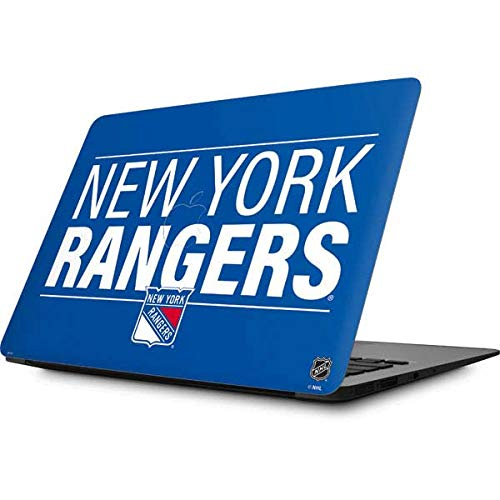 Skinit Decal Laptop Skin for MacBook Air 13 (2008&2009) - Officially Licensed NHL New York Rangers Lineup Design