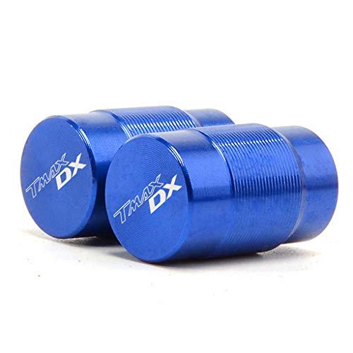 massage 2 Piezas Tapones De VáLvula Moto De VáLvula De NeumáTico Cubierta De Polvo VáLvula De Rueda De Coche Protección para Yamaha Tmax DX SX TAMX 530 tmax DX T-MAX