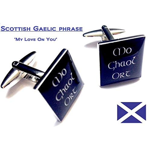 Ashton and Finch - Gemelos Celta Escoceses con Frase gaélica